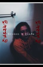 Broken glass heart  by -anonymous-loser-