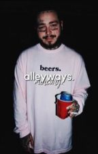 ALLEYWAYS | post malone  by 1-800-TRUMANBLACK