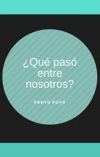 ¿Qué pasó entre nosotros? by PonyoPoyo31