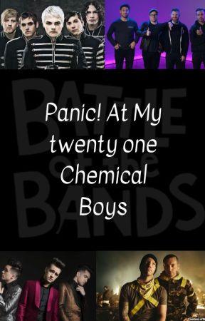 Panic! At My twenty one Chemical Boys by WingardiumLeviAnna