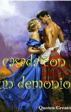 Casada con un demonio(terminada) by vampersielisabet