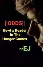 Newt x reader in the hunger games  by yolo_gryffindor