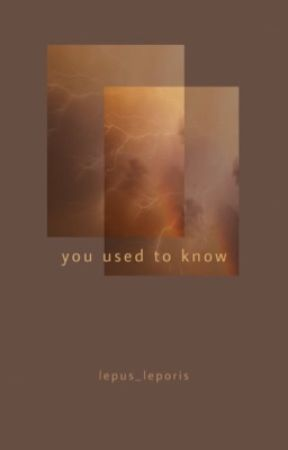 You Used To Know by lepus_leporis