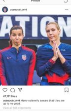 Playing for the USWNT by uswntallie