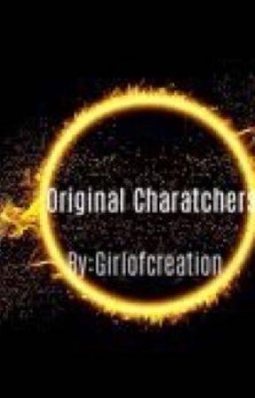 Original Characters' Book  by GirlofCreation