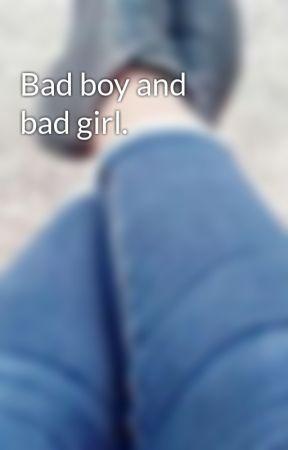 Bad boy and bad girl. by BARBARAMIMIBEL
