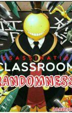 assassination classroom randomness  by adanston