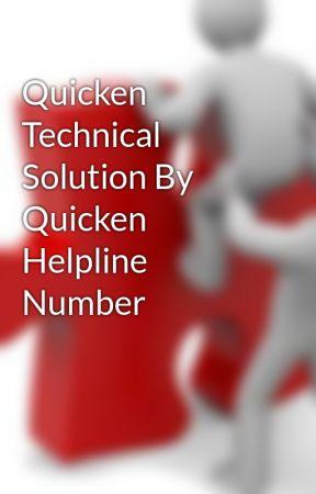 Quicken Technical Solution By Quicken Helpline Number by liamnoah000