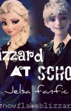 Blizzard at School (Jelsa) by snowflakeblizzard