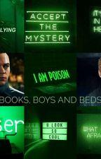 Books, Boys and Beds ( Markus x Simon College AU! 🎓)  by oodferoo