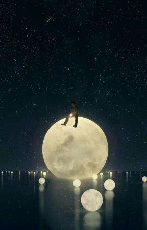 Four Full Moons by Brunetiquette