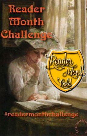 My Reader Month Challenge by exlibrisregina