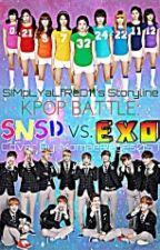 KPOP BATTLE :  SNSD VS EXO by SiMpLYaLfReD11