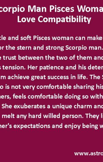 When a scorpio man is in love