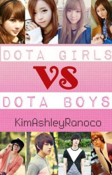 DOTA GIRLS VS DOTA BOYS