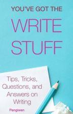 You've Got the WRITE Stuff by Pengiwen