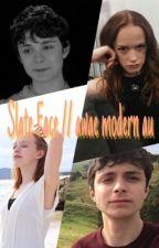 slate face // awae modern au by tylerrimdun_