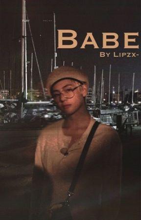 Babe | Jikook AU ✓ by lipzx-