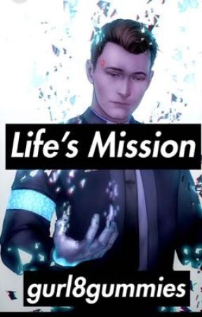 Life's Mission DBH [Connor x Reader] - Ch  6 Information at