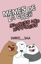 "༉‧₊˚✧¡Memes de la crew ""Sadness and Happiness""!  ˏ'୭̥*ೃ by __ohmysuga"