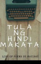 Tula Ng Hindi Makata by Mauibay