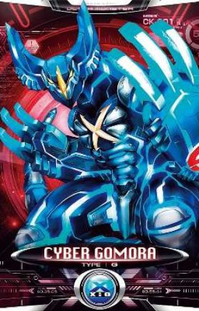 Ultraman X X Rwby Cyber Gomora Reader X Ruby Rose