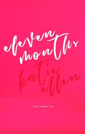 eleven months. ✔️ by palestarlightcowboy