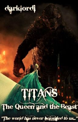 Titans The Queen And The Beast Elsa Godzilla Disney Frozen Monsterverse Darklordi