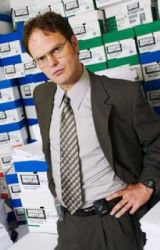 The Office - DwightxReader  by Sewer_Baby