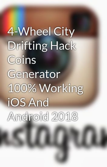 4-Wheel City Drifting Hack Coins Generator 100% Working iOS And