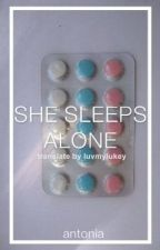 She Sleeps Alone ✖ Hemmings by galaxyhemmo by luvmylukey