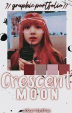 crescent moon || graphic portfolio ♡ by solarstetic