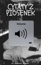 Cytaty z piosenek |MUSIC FF| by _Madame_Bieber_