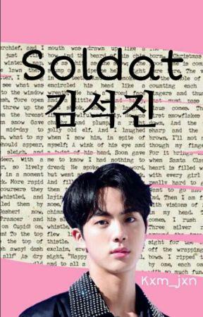 Soldat Kim SeokJin  by Kxm_Jxn