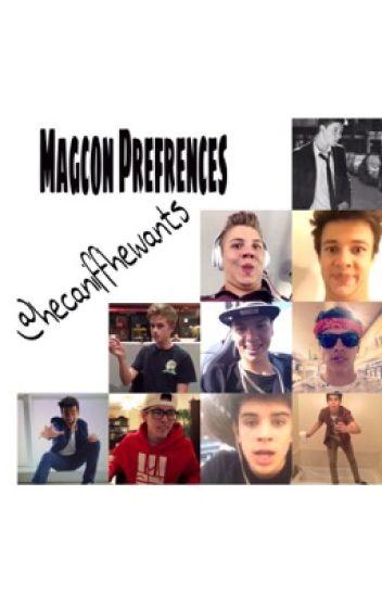 Magcon Prefrences