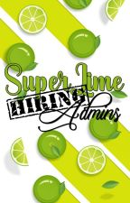 HIRING: ADMINS by SuperLime_