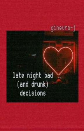 late night bad (and drunk) decisions. [Jicheol] by Ginevra-J