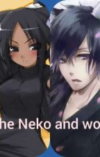 The Neko and wolf by 12prettykitty