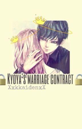 Kyoya's marriage contract by KaidenNekijima