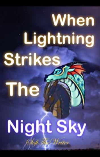 When Lightning Strikes the Night Sky