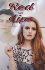 Red Lips • Stiles Stilinski • by Tori_vx