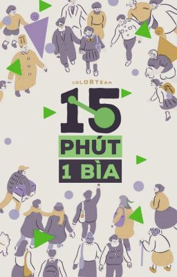 [NEW PROJECT] 15 PHÚT 1 BÌA
