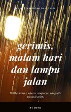 Gerimis, Malam Hari dan Lampu Jalan by totomeyo