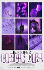 Purple Girl by MrsLoserx