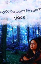 "jeronica au: ""do you want to talk?"" by -jackii"