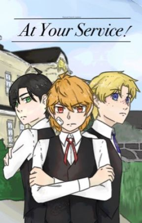 At Your Service {The Princess and the Butler} by kanatheshipper