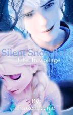 Silent Snowflake (Jelsa in Collage) by Frozenbeenie