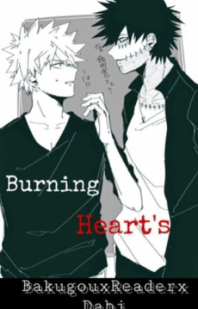 Burning Heart's (bakugouxreaderxDabi)  by Q-Flux