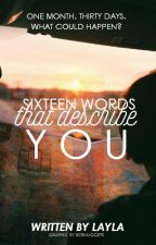 Sixteen Words That Describe You (H.S) by boxoffice
