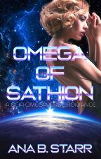 Omega of Sathion: A Scifi Omegaverse Romance by St0dad